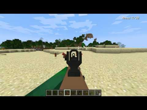 MINECRAFT MODERN WARFARE   REVIEW MOD EPICO DE ARMAS