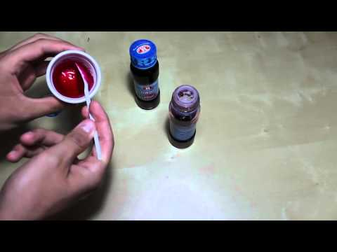 "tutorial come fare il sangue finto per halloween ""ferite e tagli"" (how to make fake blood)"