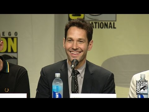 Ant Man Comic Con 2014 Panel: Paul Rudd, Michael Douglas & More!