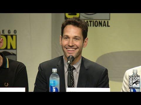 Ant Man Comic Con 2014 Panel: Paul Rudd, Michael Douglas & More!