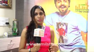 Manisha Yadav At Trisha Illana Nayanthara Team Interview