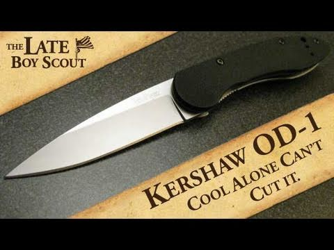 Kershaw OD-1 Folding Knife Review: Cool Alone Can't Cut it.
