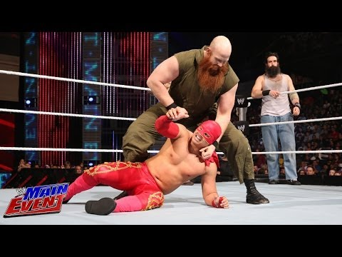 Sin Cara & Los Matadores Vs. The Wyatt Family: Wwe Main Event, Feb. 12, 2014 video