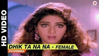 Dhik Ta Na Na Female  Laadla  Poornima  Anil Kapoor Amp Sridevi