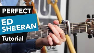 Download Lagu Perfect - Ed Sheeran Guitar Lesson Tutorial - how to play chords Gratis STAFABAND