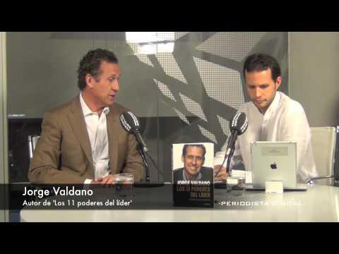 Jorge Valdano, autor de 'Los 11 poderes del líder'. 10-10-2013