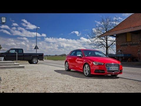 2013 Audi S3 & RS6 — За кадром