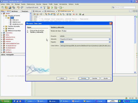 Arboles binarios con interfaces netbeans parte 2