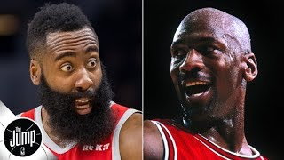 James Harden is a better scorer than Michael Jordan was, according to Daryl Morey | The Jump