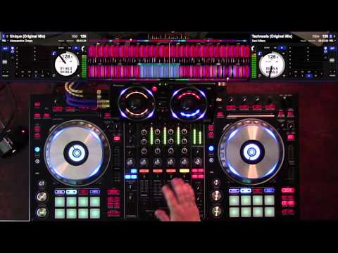 DDJ-SZ with RMX500 tech-house mix