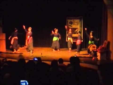 Kathak dance on ekdantaya- by students of Rag Virag