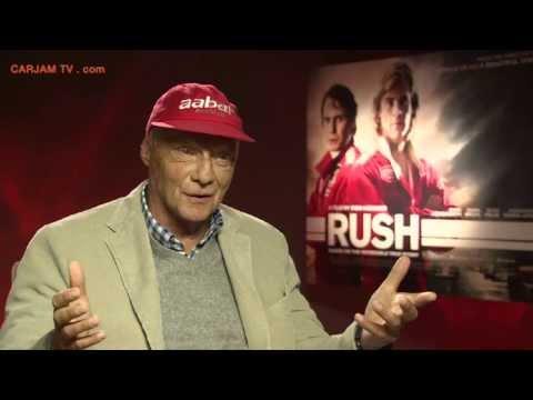 Niki Lauda Talks RUSH Movie 2013 Niki Lauda Interview On James Hunt + F1 2013 Carjam TV HD