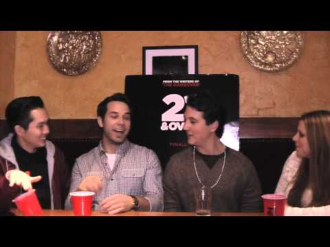 Cast of '21 and Over' talk drunk injuries