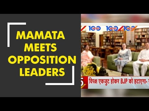 News 100: West Bengal CM Mamata Banerjee meets key opposition leaders in Delhi