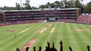 AB de Villiers' 31 ball ton - crowd reaction