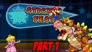 Paper Mario: Sticker Star - Part 1