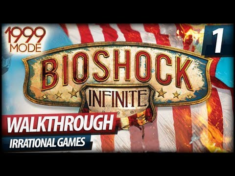 BioShock Infinite 1999 Mode Gameplay Walkthrough Let's Play - PART 1 (Commentary)