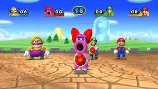 MARIO PARTY 9 STEIP IT UP  WARIO VS MARIO VS LUIGI VS BIRDO