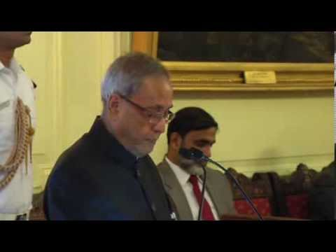 President presenting Annual Tagore Award for Cultural Harmony-2013 to Maestro Zubin Mehta - Part 1