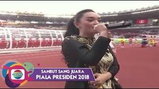 Zaskia Gotik Tarik Selimut Piala Presiden 2018