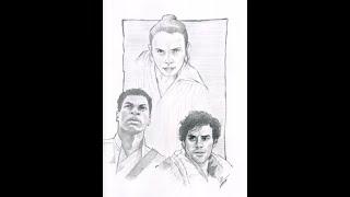 Star Wars Episode IX Trailer Review & Speed Art