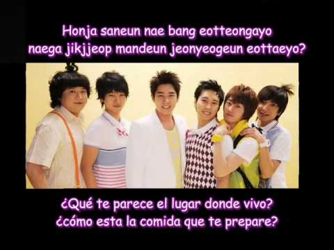 Suju H - Pajama Party - Rom + Subs Español video