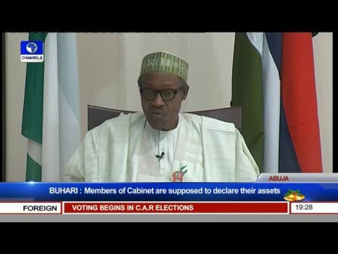 Presidential Media Chat With Muhammadu Buhari (PT3) 30/12/15