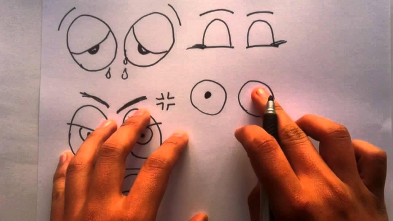Dibujar ojos expresivos aprender a pintar youtube - Aprender a pintar ...
