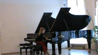 Piano concert - my sister Alisa Sharuda is playing Играет Алиса Шаруда