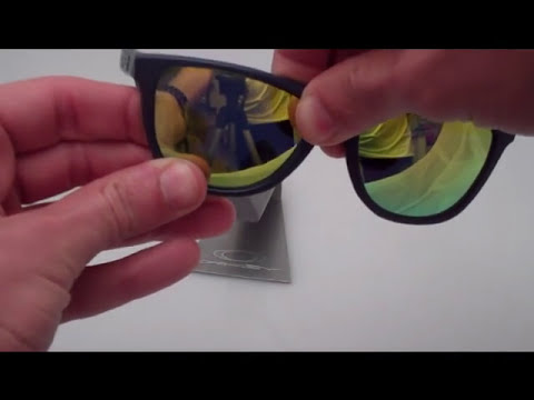 Correct Way to Replace Oakley Frogskins Frogskin Lenses ( Visionary Lenses) Sunglasses