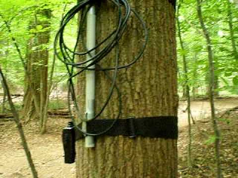 AG3BI Portable Forest Mount Antenna