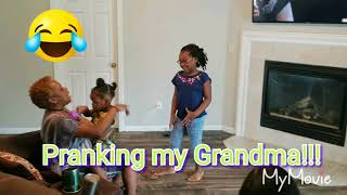 #pranks #kids #Familyvlogs [Disrespectful child prank on my Grandma!!!