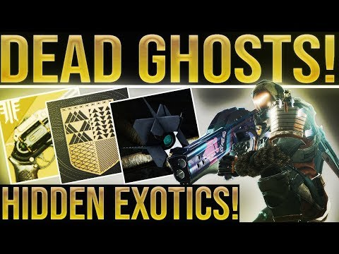 Destiny 2 Forsaken News. DEAD GHOSTS RETURN & EXOTIC QUESTS! In-Game Lore Book, Story Drones & More! thumbnail