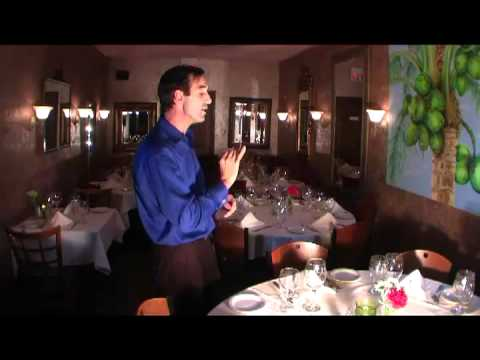 How to be a Waiter with Respectful Attitude by Vitorino
