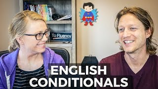 Advanced English 🇺🇸 🇬🇧 - Jack & Kate Ask Each Other Questions in the 2nd, 3rd, Mixed Conditional