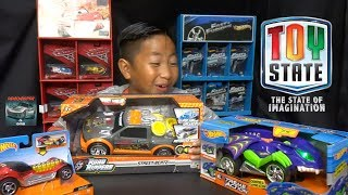 Hot Wheels Road Rippers Motorized Toy Cars Unboxing Video - ToyState.com