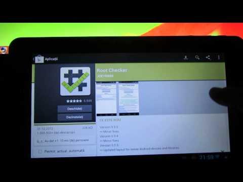 Cum sa faci root pe Android Jelly Bean 4.1.1 instalat pe tableta Serioux S101TAB