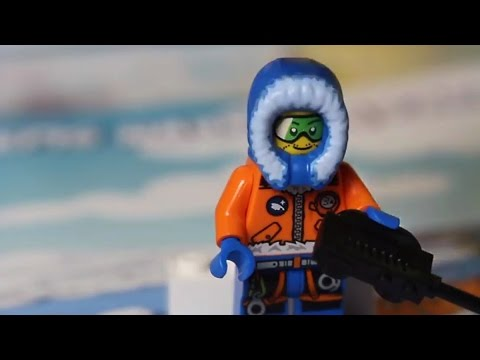 Lego City Arctic - Arctic Adventure / Arktyczna Przygoda - Magazine with Figure - Ameet