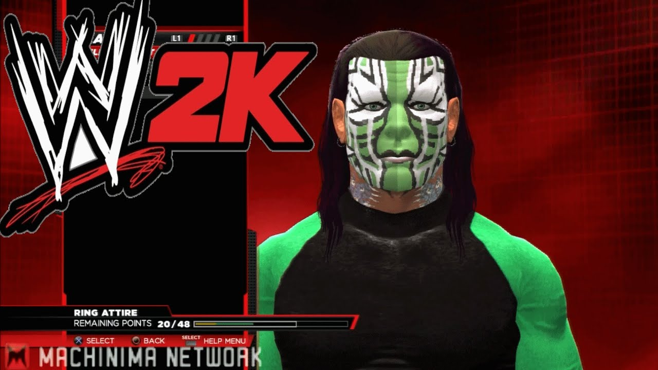 Jeff Hardy Wwe Games Wwe 2k14 Jeff Hardy Caw New