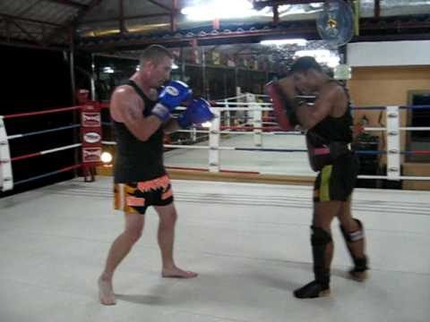 Dragon Muay Thai, Pad work Image 1