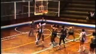 Basquetebol :: Porto - 87 x Sporting - 83 de 1988/1989 2ª Fase