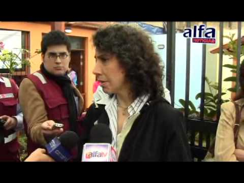 Alfa Noticias - Ministra Supervis Programa 