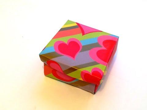 КАК СДЕЛАТЬ ПОДАРОЧНУЮ КОРОБОЧКУ СВОИМИ РУКАМИ | DIY | Origami Box | How to make а Paper Box  ♡ ♡ ♡