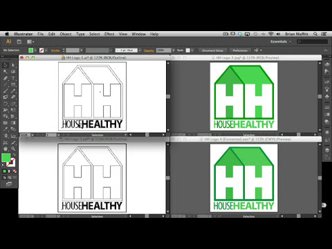 Adobe Illustrator CS6: Vector vs. Raster & Working with Different File Types