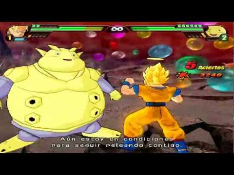 Dragon Ball Z Budokai Tenkaichi 3 Version Latino Modo Historia *Janemba vs Goku ~ parte 1* HD