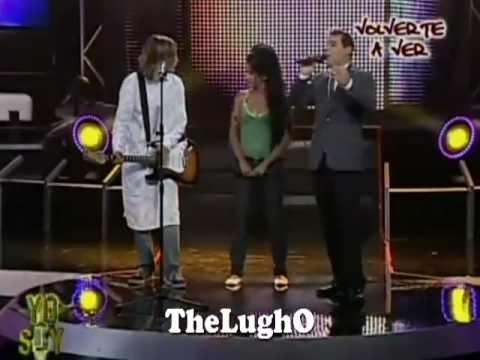 Kurt Cobain y Amy Winehouse yo soy peru 2012