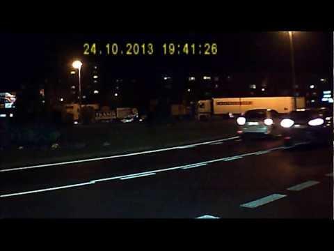 Wypadek Na Rondzie W Radomiu (rondo Warszawskie)