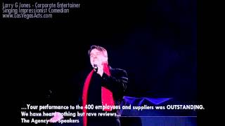 Neil Diamond by Award winning Singing Impressionist Comedian: Corporate Entertainer