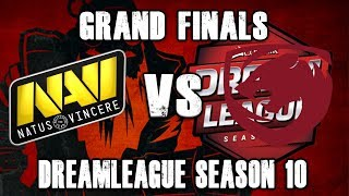Navi vs Tigers Grand Finals - DreamLeague Season 10 Dota 2