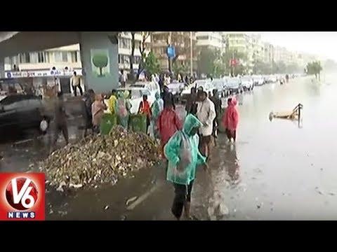 Mumbai Rains: Brihanmumbai Municipal Corporation Begins Cleaning of City   V6 News